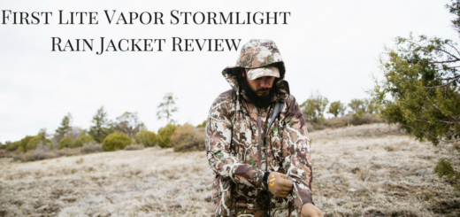 First Lite Vapor Stormlight Review