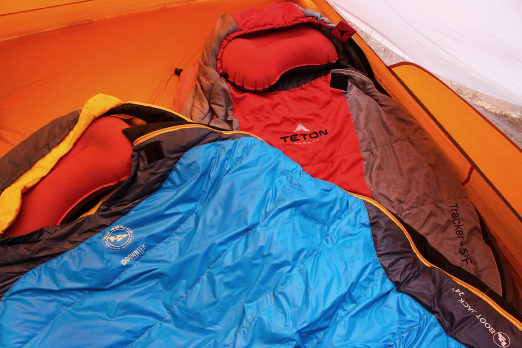 sleeping bags backcountry hunting