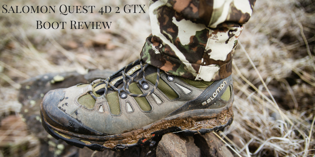 Salomon Quest 4D 2 GTX Boot Review - Dialed In Hunter
