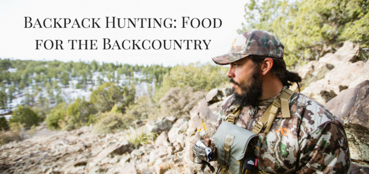 Food for the Backcountry